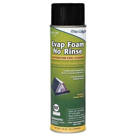 EVAP FOAM COIL CLEANER 18 OZ AEROSOL FOAMING NON-RINSE
