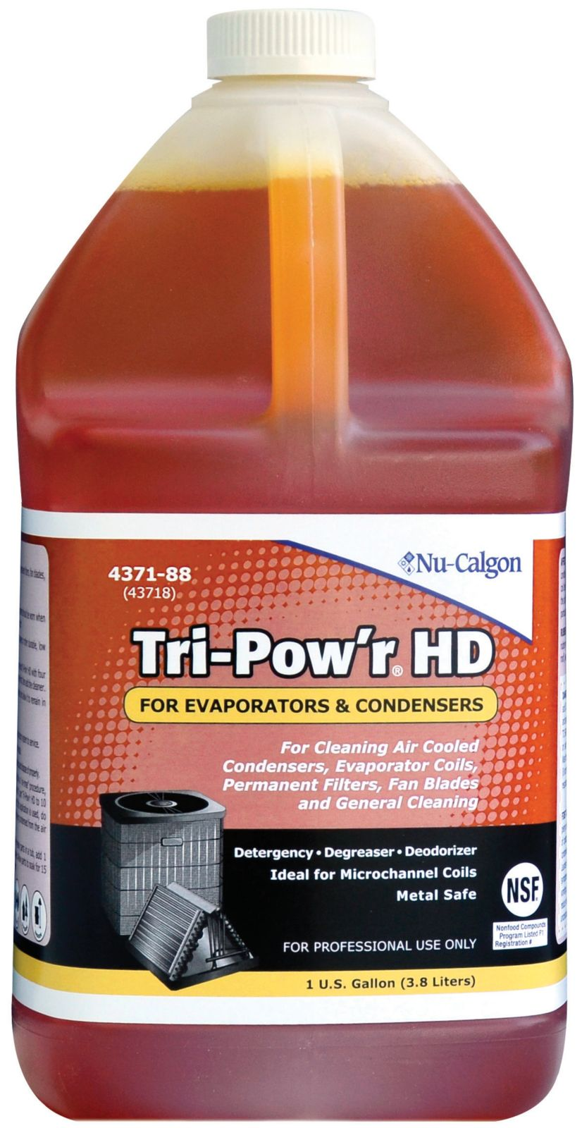 TRI-POW'R HD COIL CLEANER 1 GAL