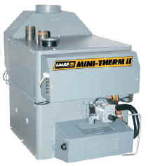 50MBTU MINI-THERM COPPER TUBED BOILER, BUILT-IN DRAFT