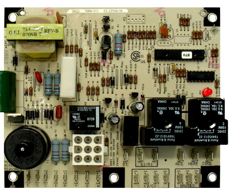 INTEGRATED FURNACE CTRL BOARD