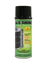 A/C SHINE OUTDOOR UNIT CLEANER/PROTECTANT 12 OZ